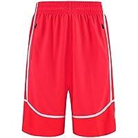 Yying Hombre Running Pantalones Cortos Medio Verano Ligero Deporte Pantalon Corto Gimnasio Trotar Respirable Bolsillos… JAUFBsBFND