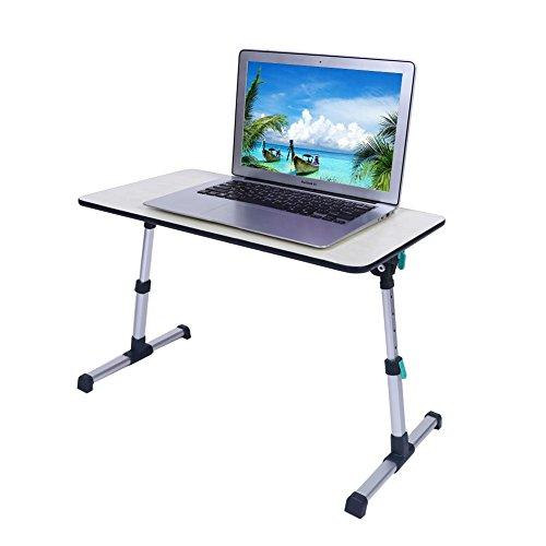 Verstellbarer Laptop-Tisch Bett-Tablett, tragbar Stehpult, zusammenklappbar Sofa Frühstückstisch, verstellbare Leselampe Notebook, Ständer Halterung für Couch Boden Kids-Minitisch 53* 30cm (Leselampen Boden Verstellbare)