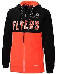 Reebok CCM NHL PHILADELPHIA FLYERS Faceoff Full Zip Hoody, Größe:L