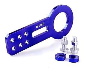 Accessoires JDM aluminium anodisé Blue Car Crochet remorquage avant Fit universelle pour MAZDA RX7 RX8 FC3S FD3S FC