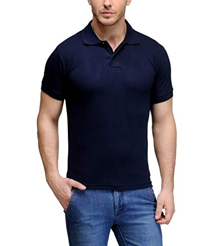 ab1908175 UMAGRI All Season Classic Polo T Shirts for Men with Collar 2-Block Regular  Fit ...