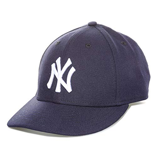 New Era Herren Caps / Fitted Cap Authentic Performance Low Crown NY Yankees blau 7 3/8 - 58,7cm -