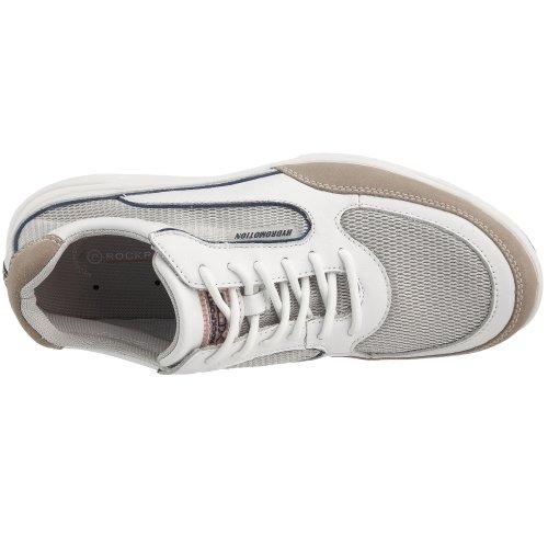 ... Rockport Hydroplex, Chaussures de sport homme Blanc - weiß/weiß ...