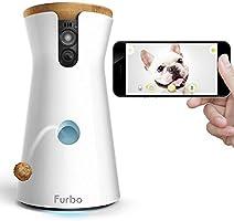 Furbo Hundekamera : Leckerli-Ausgabe, HD-WiFi-Hundekamera und 2-Wege-Audio