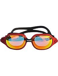 Inciple 2019 Gafas de natación creativas Sin escapes Protección contra rayos UV de UV Impermeables antiniebla Gafas de natación galvanizadas de alta definición con lentes de montura grande
