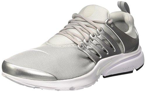 premium selection 6bcb2 bfbd8 Nike Air Presto Premium, Zapatillas de Gimnasia para Hombre, Gris (Metallic  Silver/