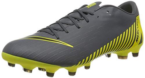 Nike Herren Vapor 12 Academy Mg Fußballschuhe, Grau (Dark Grey/Black-Dark Grey 070), 40 EU