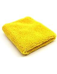 Unisexe Tennis Gym bracelet en peluche bracelet de sport Yellow