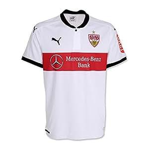 Puma VfB Stuttgart Trikot Home 17/18 (white, L)