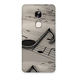 Neo World Music Note Back Case Cover for Le 2