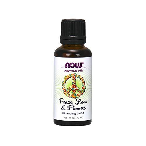NOW Foods - Équilibrer le mélange d'huile essentielle Paix, amour et fleurs - la 1 Floride. once.