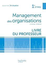 En situation Management des organisations 1re STMG - Livre professeur - Ed. 2012