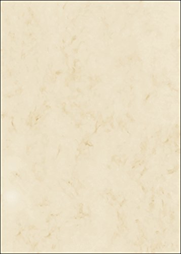 Marmorierter Karton, hochwertige 200 g/qm Qualität, beige, DIN A4, 50 Blatt, Motiv beidseitig