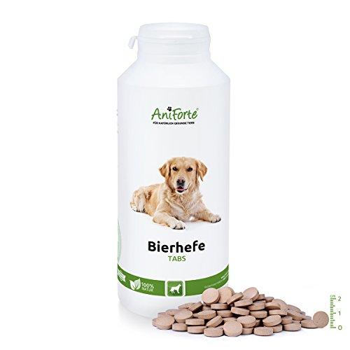 AniForte Bierhefe Tabs 500 Stk. - Naturprodukt für Hunde