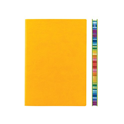 2018 Signature Chromatic A5 Diary Yellow