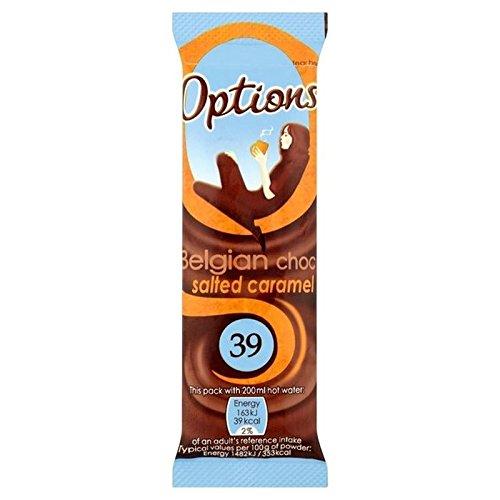 Optionen Gesalzenem Karamell Schokolade 11G Beutel