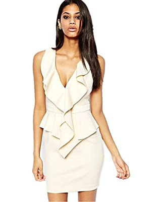 HU&HU Damen Kleid Bodycon