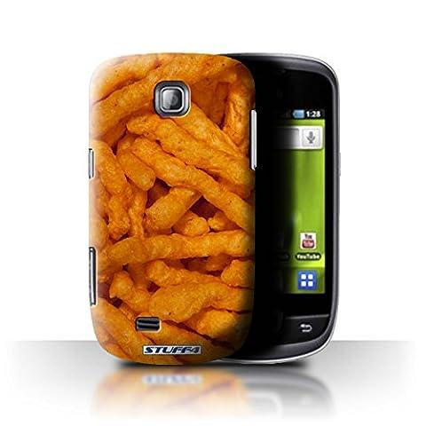 Stuff4 Hülle / Hülle für Samsung Galaxy Mini/S5570 / Nick Nacks Muster / Imbiss Kollektion
