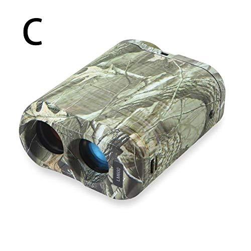 Politice Golf-Entfernungsmesser, Entfernungsmesser-Messbereich 5-600 M, Geschwindigkeitsbereich 0-300 Km/H, Unterstützung 6-fache Vergrößerung, IP54 Wasserdicht