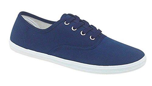 Tennis en tissu à lacets - garçon/fille - Bleu Royal - EUR 30