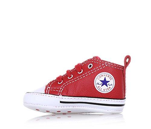 baskets converse berceau 855120C CTAS FIRST STAR HI Rouge