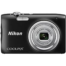 Nikon COOLPIX A100 - Cámara digital (Cámara compacta, 1/2.3, 4,6-23 mm, Auto), negra