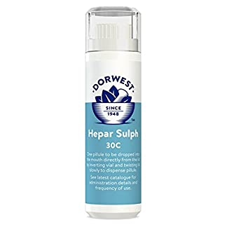 DORWEST HERBS Hepar Sulph 30C Homeopathic Remedy for Dogs and Cats 7