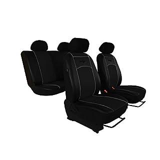 Autositzbezüge, Sitzbezüge Set passend für 206 Super Qualität, DESIGN KUNSTLEDER. In diesem Angebot SCHWARZ (In 7 Farben bei anderen Angeboten erhältlich) . Komplett besteht aus: Sitzbezügen + 5 Kopfstützen + Montagehäckchen.