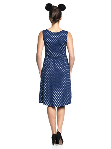 Pussy Deluxe Best Dotties Kleid navy Navy