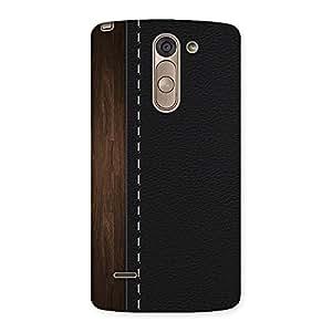 Neo World Wood Black Back Case Cover for LG G3 Stylus