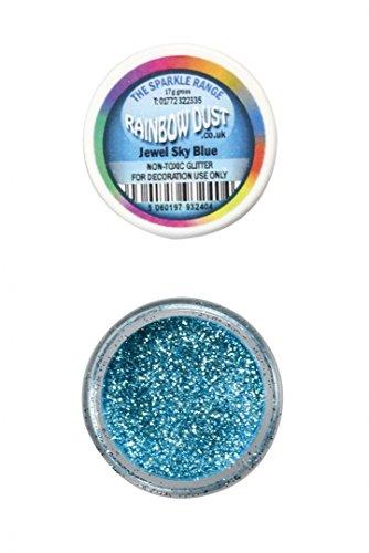 Paillette Bijou Bleu ciel Rainbow dust