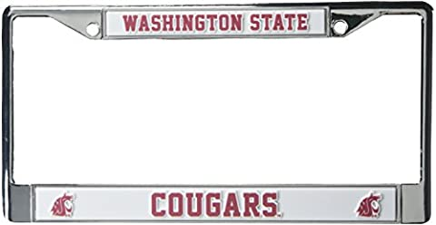 NCAA Chrome Teller Rahmen, Washington State Cougars (State University Chrome Frame)