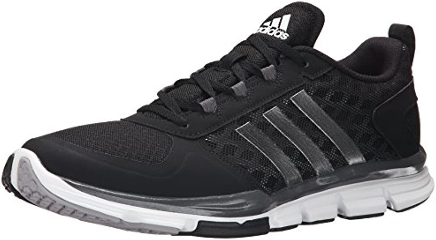 Adidas Performance Speed â??â??Trainer 2 Formación de zapatos, Negro / carbono metalizado / Oro col