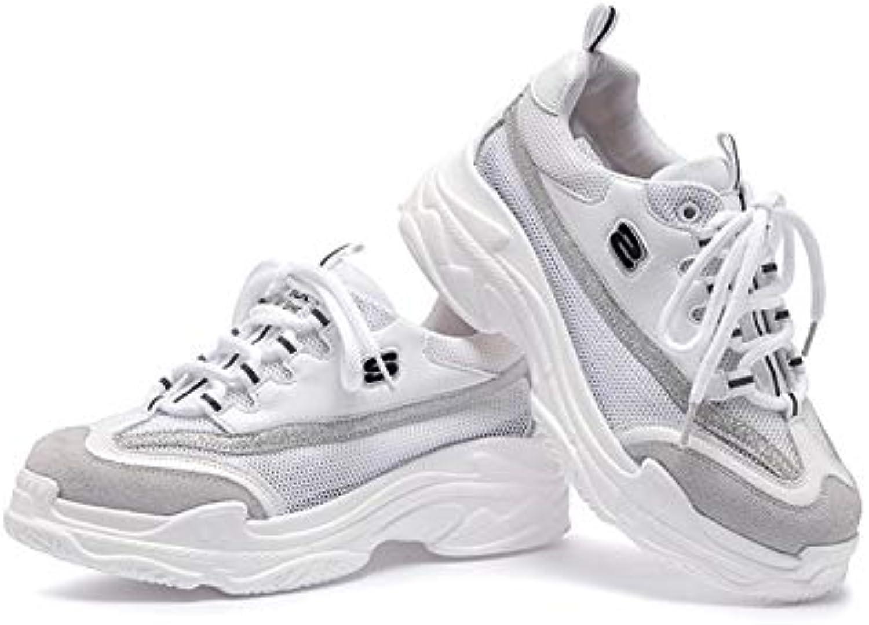 He-yanjing Scarpe Casual da Donna Donna Donna 2018 Nuove scarpe da ginnastica Piattaforma Invernale Scarpe Casual | Colore Brillantezza  | Scolaro/Ragazze Scarpa  16aca7