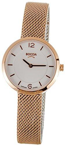 Boccia Damen-Armbanduhr 3266-07