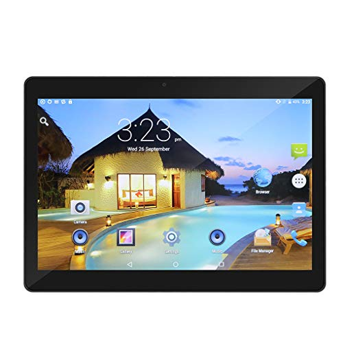 10 Zoll Tablet PC Android 6.0 4 GB RAM 64 GB ROM Octa Core 8 Kerne Dual Kameras 5.0MP 1280 * 800 IPS Mengonee (schwarz1) (10-zoll-android-tablets)