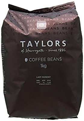 Taylors of Harrogate Lazy Sunday Coffee Beans, 1kg (Pack of 2)