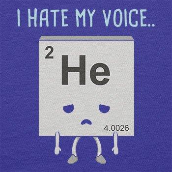 NERDO - I hate my Voice - Herren T-Shirt Marine
