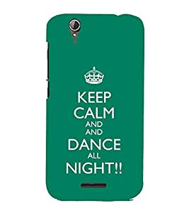EPICCASE Dance all night Mobile Back Case Cover For Acer Liquid Z630 (Designer Case)