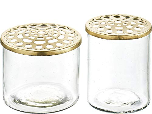 A simple Mess Vase Set Kastanje Set of 2 -