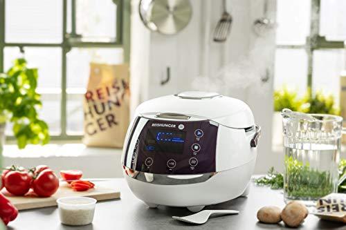 Reishunger Digitaler Reiskocher (1,5l/860W/220V) ...