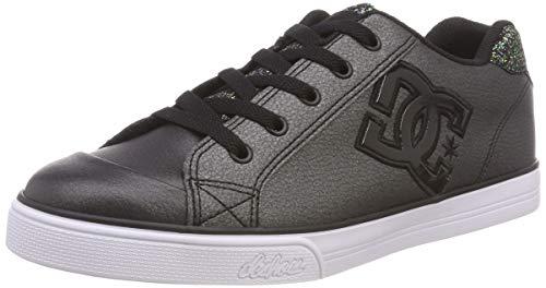 DC Shoes Chelsea Se, Zapatillas de Skateboard para Niñas, Multicolor (Black Multi Bk5), 38 EU