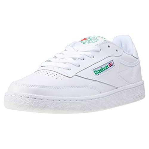 Reebok Club C 85, Chaussures de Fitness Homme white green