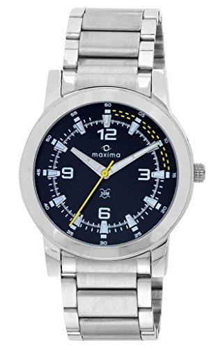 Maxima Attivo Analog Black Dial Men's Watch - 20984CMGI image