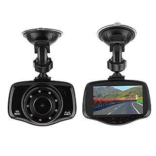 Auto Dash Cam 140 ° HD Nachtsicht Dash Cam Video Recorder Auto Auto Backup Rückfahrkamera