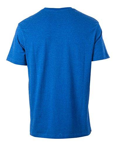Rip Curl Herren Losange Logo Kurzarm T-Shirt Wahres Blau Marle