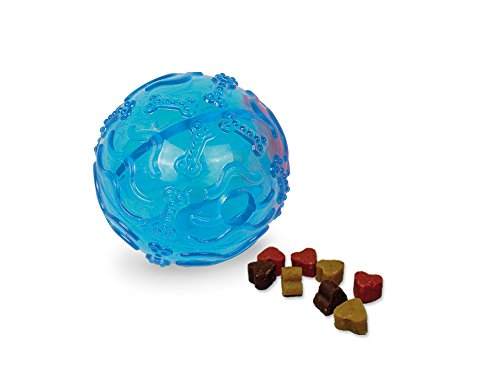Nobby TPR Snackball blau 8 cm