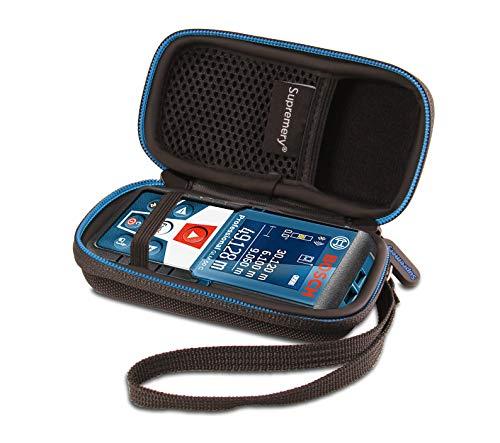 Supremery Case für Bosch Professional Laser Entfernungsmesser GLM 50 C Case Tasche Schutzhülle Etui mit Netztasche für weiteres Zubehör für Bosch GLM 50 C