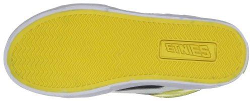 Etnies KIDS RVM VULC 4301000083-1, Unisex - Kinder Sportschuhe - Skateboarding Nero (Green/White/Yellow)