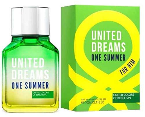 UNITED DREAMS ONE SUMMER FOR HIM OF BENETTON - Eau de Toilette Natual Spray 100 ml -